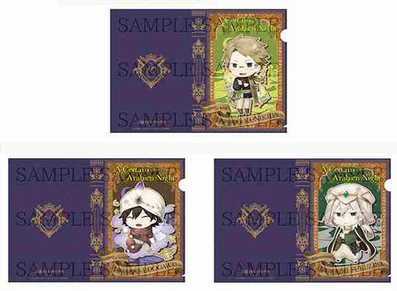 Bungo Stray Dogs - Clear File Set Fairy Tale: Arabian Nights