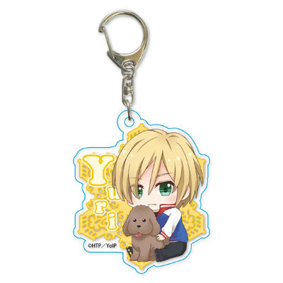 Yuri!!! on Ice - Gyugyutto Acrylic Keyholder part 2