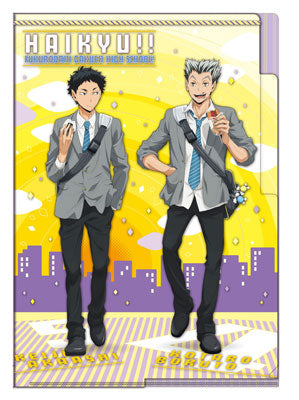 Haikyuu!! - 3-pocket Clear File - Akaashi & Bokuto