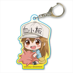 [Pre-order] Cells at Work! - Gyugyutto Acrylic Keychain