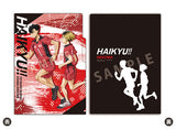 [Pre-order] Haikyuu!! - 3 Pocket Clear File Dash!