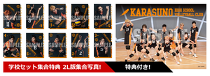 Haikyuu!! - Saikyō no Team Goods - Karasuno Players Set