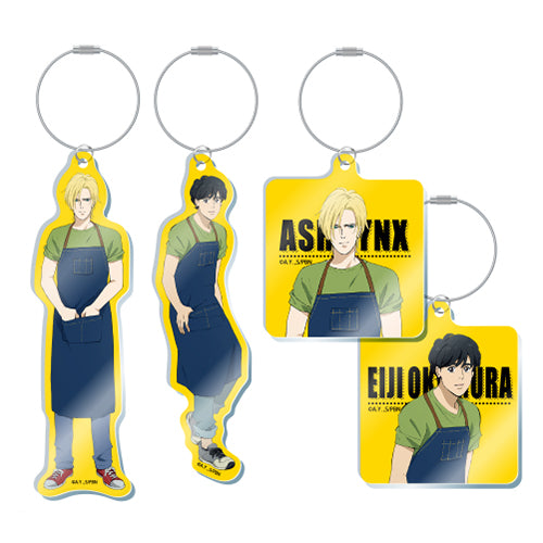 [Pre-order] Banana Fish Cafe Exclusive Goods - Acrylic Keyholder (Random)