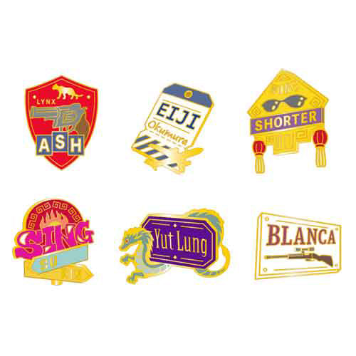 [Pre-order] Banana Fish Cafe Concept Goods - Pin Badge Collection (Random)