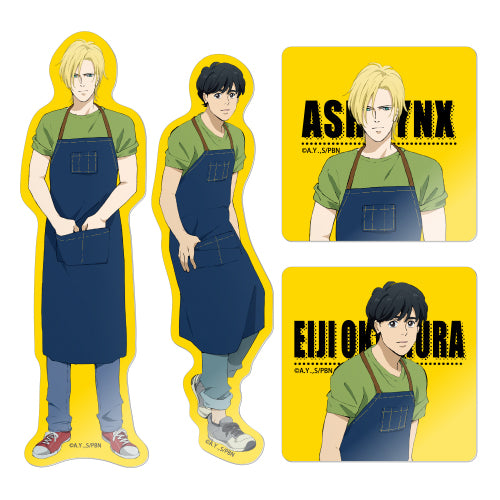 [Pre-order] Banana Fish Cafe Exclusive Goods - Die Cut Sticker (Random)