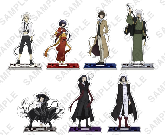 [Pre-order] Bungo Stray Dogs - Acrylic Figure Stand (3rd Season Key Visual)