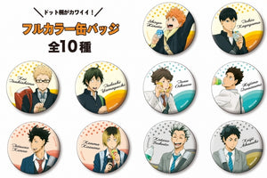 [Pre-order] Haikyuu!! - Can Badge Collection