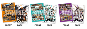 Haikyuu!! - Saikyō no Team Goods - Clear File