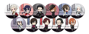 Bungo Stray Dogs - Dead Apple x Animate Cafe Collaboration - Coaster