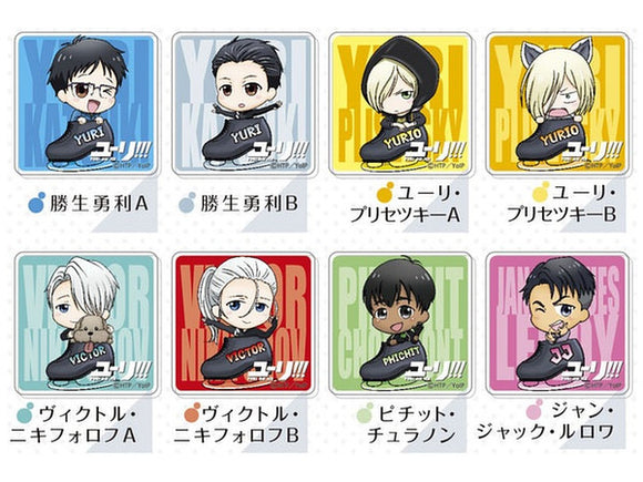 Yuri!!! on Ice - Acrylic Badge
