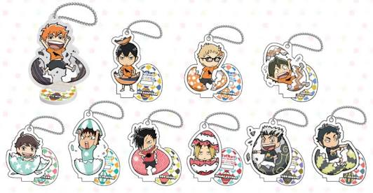 Haikyuu!! - JWorld Collaboration Easter Acrylic Keyholder / Stand