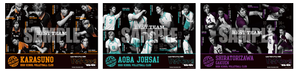 Haikyuu!! - Saikyō no Team Goods - Team Poster