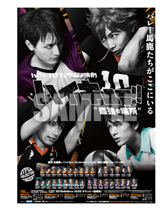 Haikyuu!! - Saikyō no Team Goods - Visual Poster