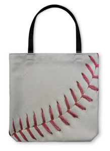 Tote Bag, Baseball Seams