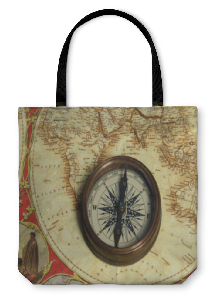 Tote Bag, Compass