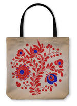 Tote Bag, Hungarian Folk Motives