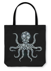 Tote Bag, Diamond Octopus