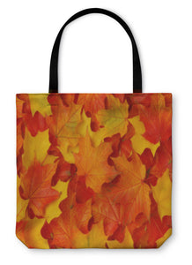 Tote Bag, Fall Leaves