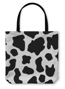 Tote Bag, Cow Pattern