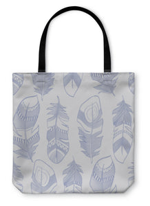 Tote Bag, Ethnic Indian Feathers Plumage Pattern