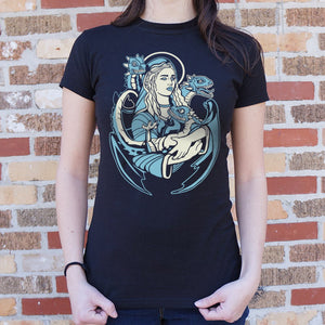 Mother And Dragons T-Shirt (Ladies)