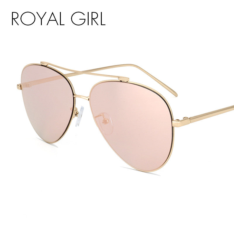 ROYAL GIRL New Brand Classic Coating Sunglasses Men Women Colorful Reflective - Bathing Suit Hub