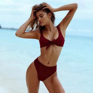 LIVA Deep V Neck Summer Bodysuit Women Bow Sleeveless Crop Sexy Jumpsuit Romper Beach Bohemia Candy Color Female Bodysuit