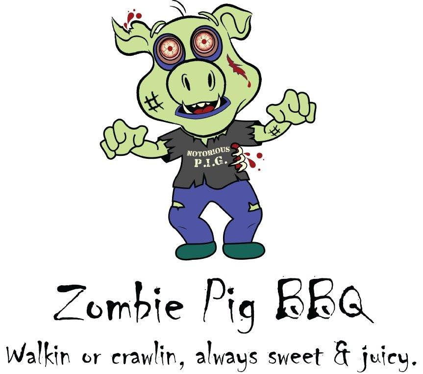 Zombie Pig BBQ (Columbus): $50 Value for $25