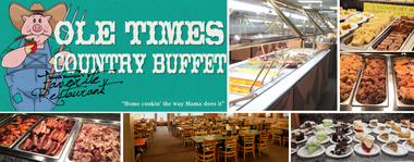 Ole Times Country Buffet (2 Locations): $25 Value for $15