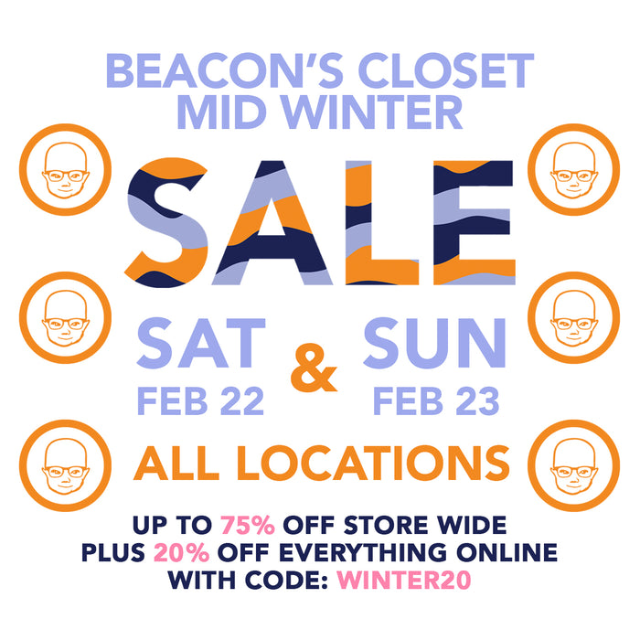 midwinter sale-up to 75% off!