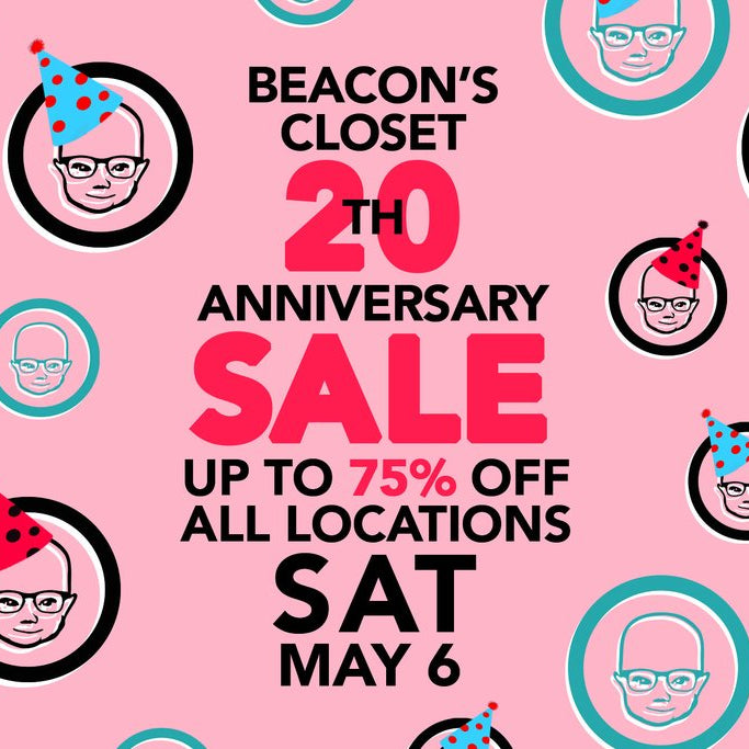 beacons closet 20th anniversary sale
