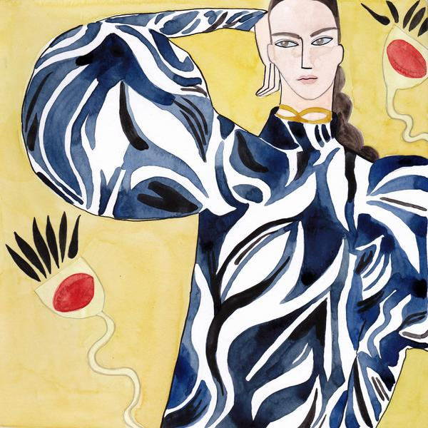 painterly fashions by kelly beeman