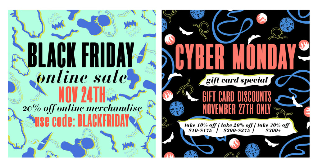 black friday / cyber monday deals!