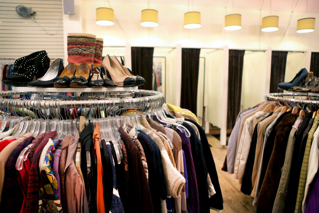 clothing and shoe rack