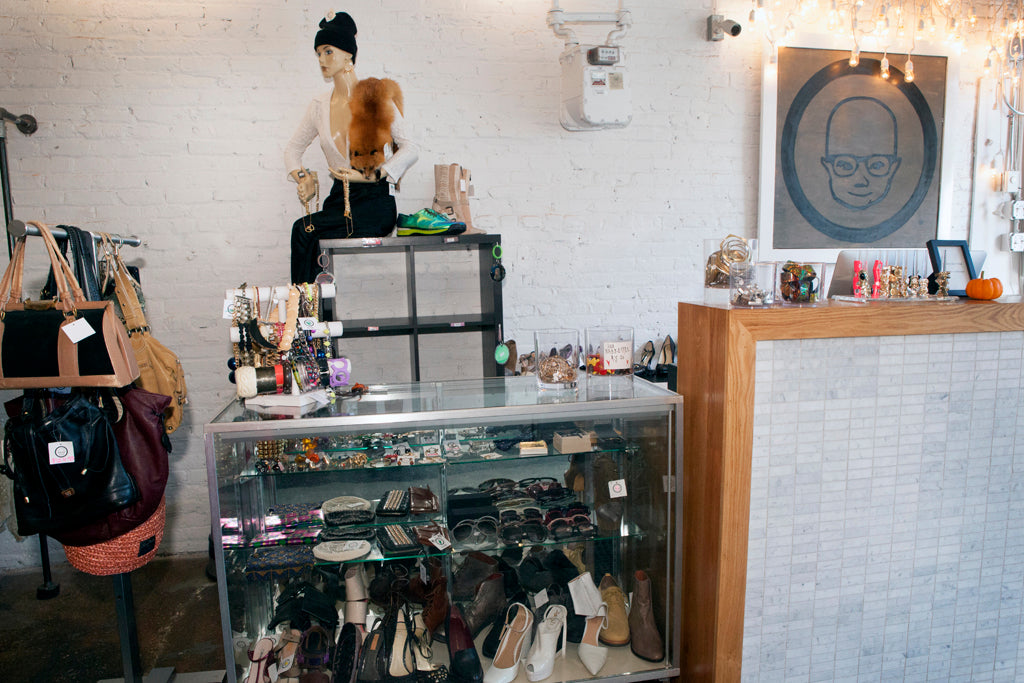 jewelry case and bag rack