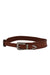 rebecca minkoff brown leather belt.