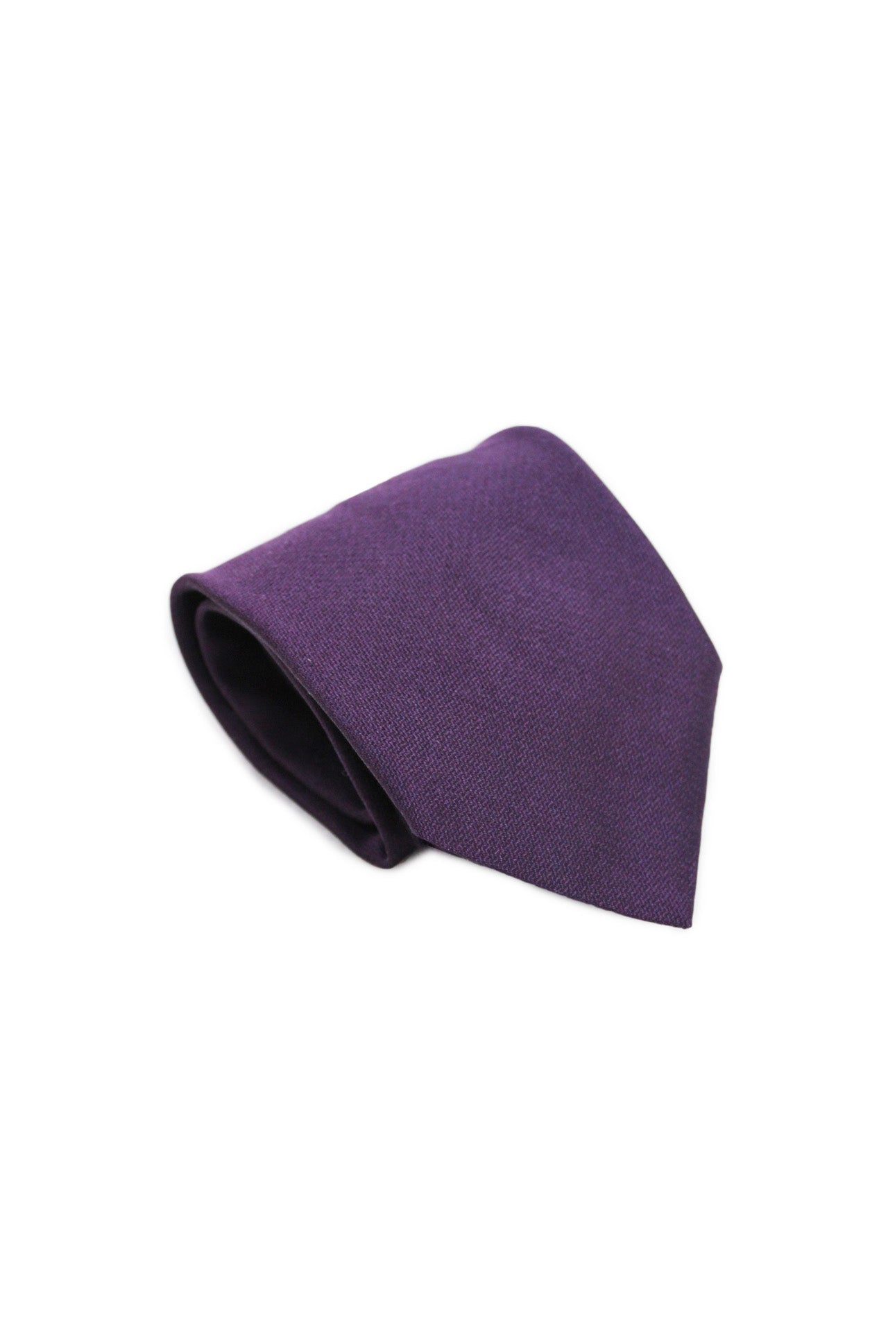 valentino purple silk tie. features purple exterior and wide cut.