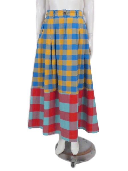 mara hoffman skirt - chex mix