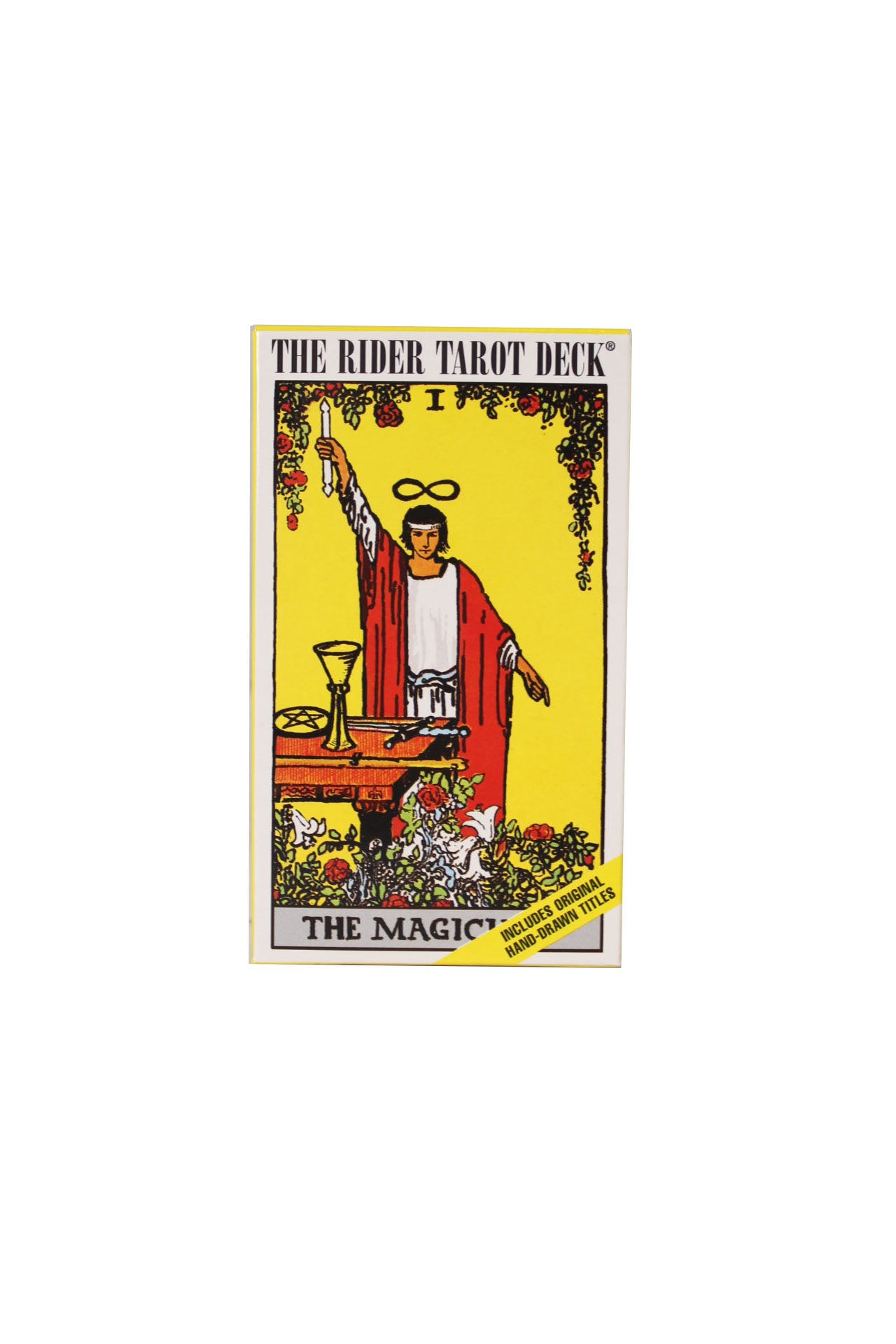 the rider tarot deck by arthur edward waite.