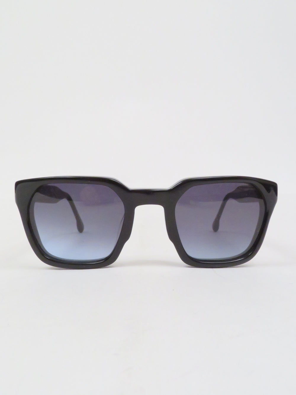 steven alan black sunglasses, features square frames with slate lenses