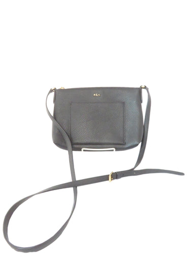 lauren ralph lauren black toned purse