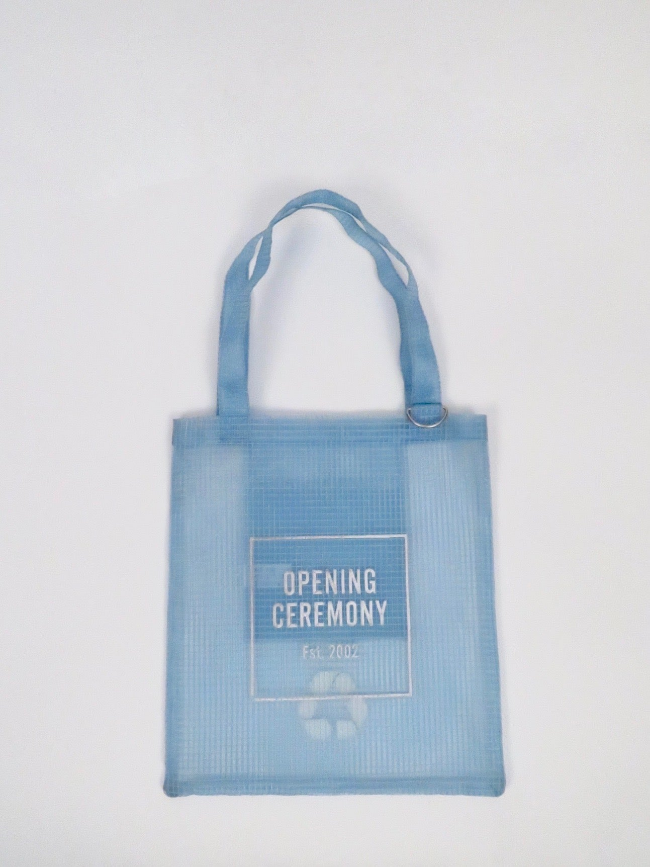 opening ceremony tote baby blue