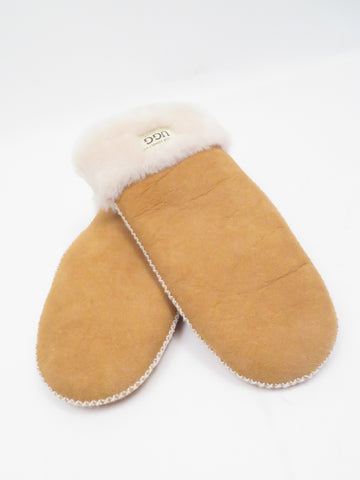 shearling mitts
