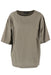 dkny khaki green oversized top.