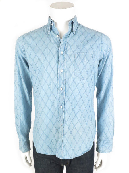 diamond chambray
