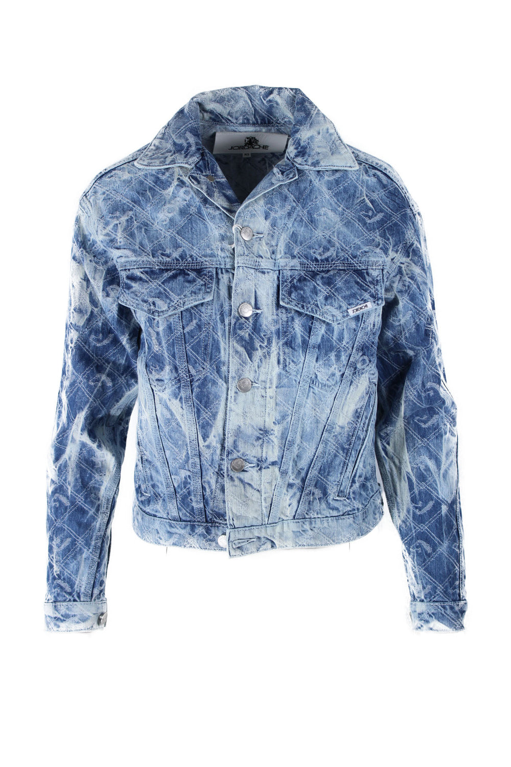 jordache acid wash denim jacket.