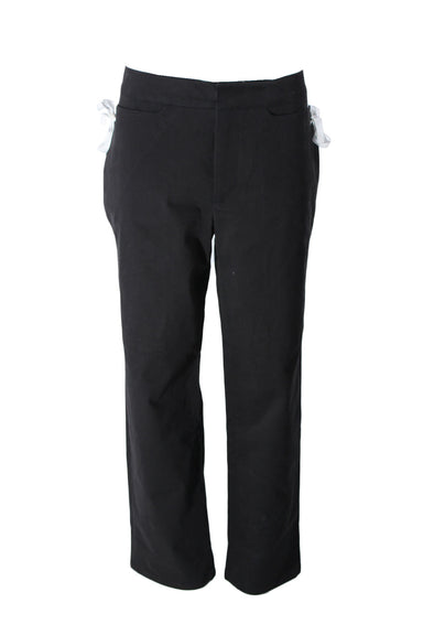 totokaelo black wide leg trouser