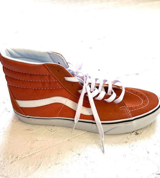 lotta terracota - vans hi tops