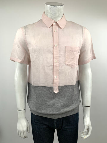 phillip lim pink sheer and cashmere