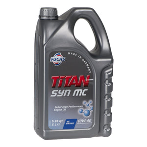 Fuchs TITAN SYN MC 10w-40 High Performance Semi-Synthetic Engine Oil - 5  Litres